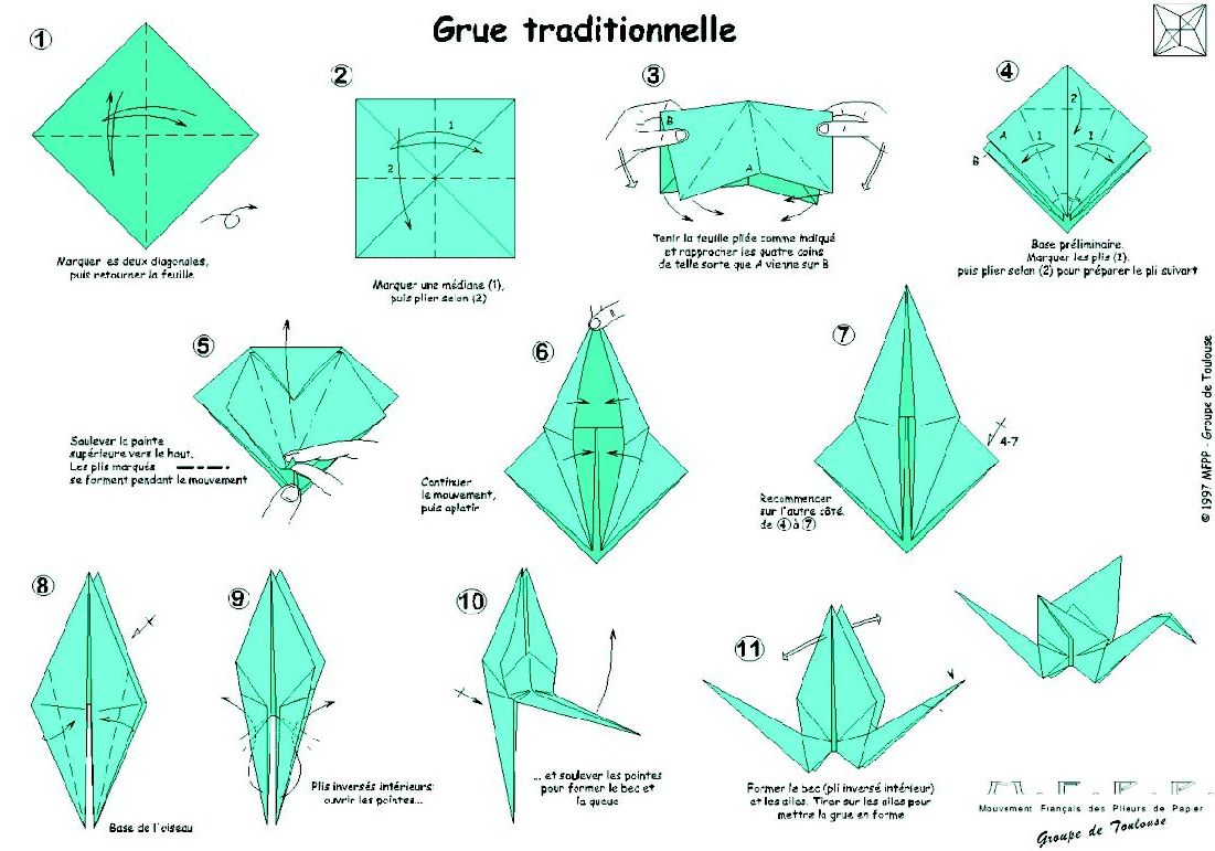 Explication Origami Grue